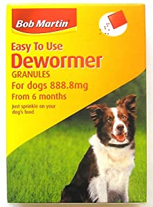 Bob Martin East to use Dewormer for dogs from 6months by Bob Martin