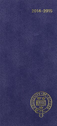 Oxford University Pocket Diary 2014-15