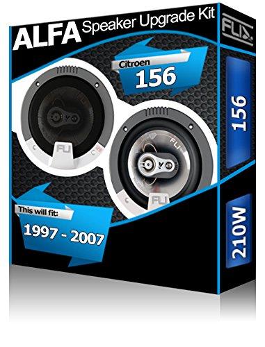 ALFA ROMEO 156 Avant Kit Haut-parleurs 'FLI Audio Haut-parleur de voiture de porte 210 W