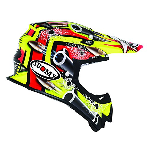 SUOMY Casco Motocross MR Jump Bullet, Multicolor (Bullet Yellow), L