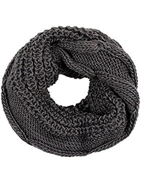Sciarpa d'inverno a tubo circolare, per i mesi freddi, foulard da donna multiuso leggero e morbido estate primavera...