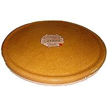 Alfarería Pereruela Siglo XVI APPLR26 - Plato redondo de barro refractario auténtico , 26 cm