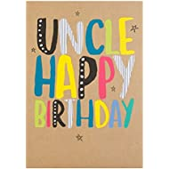 Hallmark Uncle Card 'Fantastic Birthday' - Medium