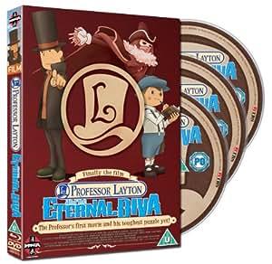 Professor Layton And The Eternal Diva DVD+Blu-ray Combi Pack [DVD]