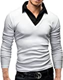 store-online-camisas-para-hombre-merish-2-in-1-suter-with-camisa-inlay-5-de-color-hombres-26-blanco-l