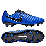 Nike Unisex-Erwachsene Legend 7 Academy FG Fußballschuhe, Blau (Racer Blue/Black/MTLC Silver 400), 45 EU