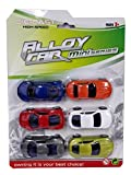 Emob Luxury and Sports Car Metal Die - Cast Pull Back Action Vehicles