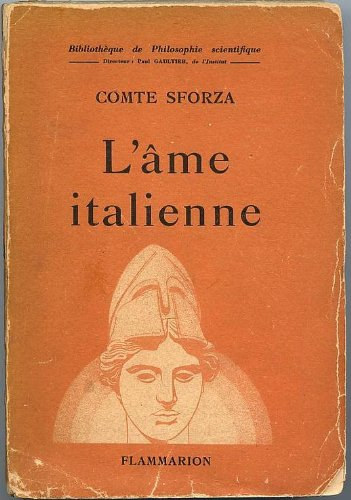 L'âme italienne.