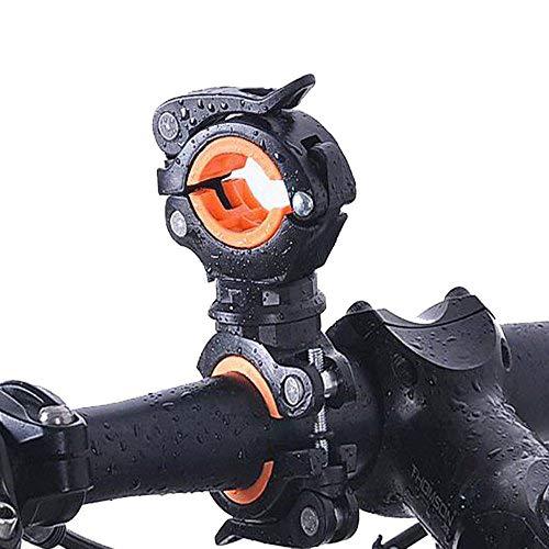 SOOJET BFH-02 360° Verstellbare Universal Fahrrad Halterung Bike Bicycle Holder Für Taschenlampe, Action Kamera, GPS Und Anderen Elektronischen Sport Geräten