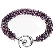 Beaded Kumihimo Bracelet (Purple Tones) - Exclusive Beadaholique Jewelry Kit