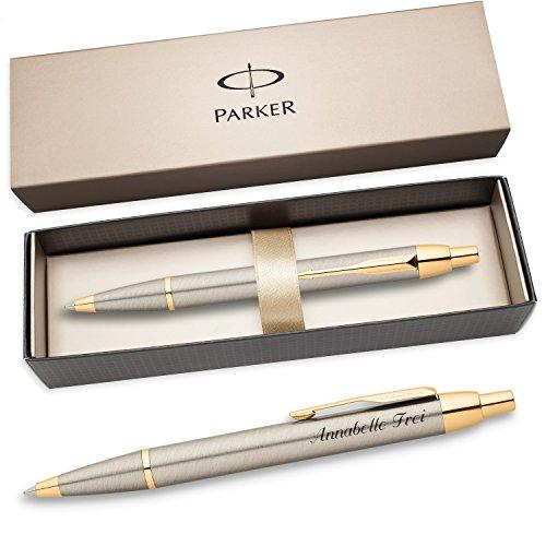 PARKER Kugelschreiber IM mit Edelstahl-Optik G.C. S0856480...