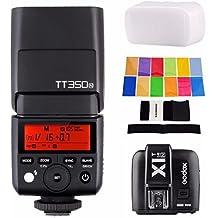 Godox TT350N w/ X1T-N Transmitter, 2.4G HSS 1/8000s TTL GN36 Wireless Speedlite Flash for Nikon DSLR D810 D800 D750 D700 D610 D7100 D5200 D90 and Mirrorless Digital Camera