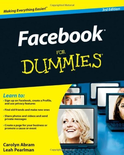 Facebook For Dummies by Leah Pearlman (2010-10-05)