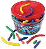 Learning Resources Measuring WormsTM, set of 72