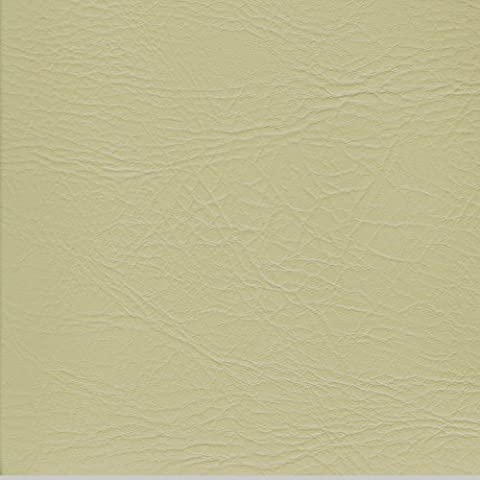 CREAM 54 inch wide Leatherette Vinyl Fabric Fire Retardant Faux Leather Upholstery Material Sold by the metre