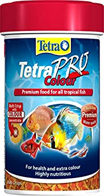 Tetra Pro Colour Fish Food, Premium Food for Health and Extra Colour for All Tropical Fish, 500 ml