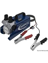 Electropompe auto-amorçable réversible pour transvasement gasoil-huile, V: 24, Embout mm: 25, Hauteur amorçage m: 1,5, Pression: 1,2 bar, Débit ltrs/min: 45, A: 7,5