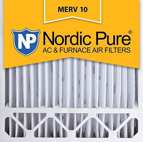 Nordic Pure 20x20x5, MERV 10, Honeywell Replacement Air Filter, Box of 2 by Nordic Pure (Filter Merv 10 Honeywell)