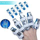 Sumifun Splint Finger, Mallet DIP Fingerschienen, Finger Extension Splint für Trigger Finger, Mallet Finger, Fingerknöchel Immobilisierung, Finger Frakturen