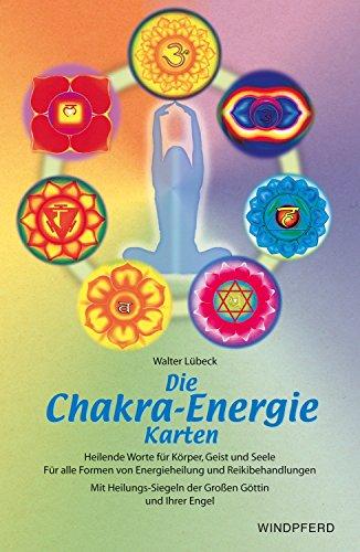 Die-Chakra-Energie-Karten-Buch-und-154-Karten-Heilende-Worte-fr-Krper-Geist-und-Seele-Fr-alle-Formen-von-Energieheilung-und-Reikibehandlungen--der-Groen-Gttin-und-Ihrer-Engel