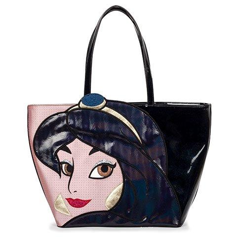 Danielle Nicole Disney Aladdin Jasmin Black Tote Bag SChultertasche Tasche