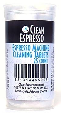 Espresso Machine Cleaning Tablets - CleanEspresso Model JU-25 - For Jura Espresso Machines