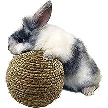 Cdet Aves de Mascota Parrot Toy Accesorios de Bricolaje Bola de ratán de Juguete pie de