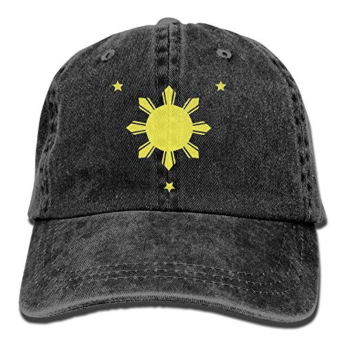 Nifdhkw Philippines Sun and Stars Sport Jean Cap ()