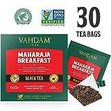 Englisches Frühstück Schwarzer Tee (30 Tea Bags) | HIGH ENERGY & CAFFEINE - Gesunder Kaffeeersatz | Starke, robuste und aromatisierte schwarze Teebeutel | Kombucha-Tee, Milchtee | ANTIOXIDANTS RICH