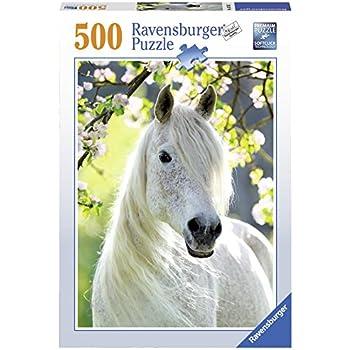 Ravensburger 14717 - Puzzle - Horde de chevaux - 500 pièces