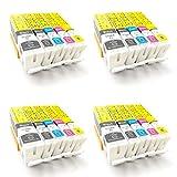 ColorJoy PGI-570XL CLI-571XL Cartouches d'encre Compatible pour Imprimantes Canon...
