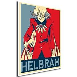 Poster Seven Deadly Sins Helbram - A3 (42x30 cm)