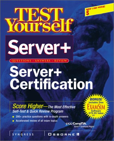 Test Yourself Server Certification (Test Yourself/Cert. Press S.)