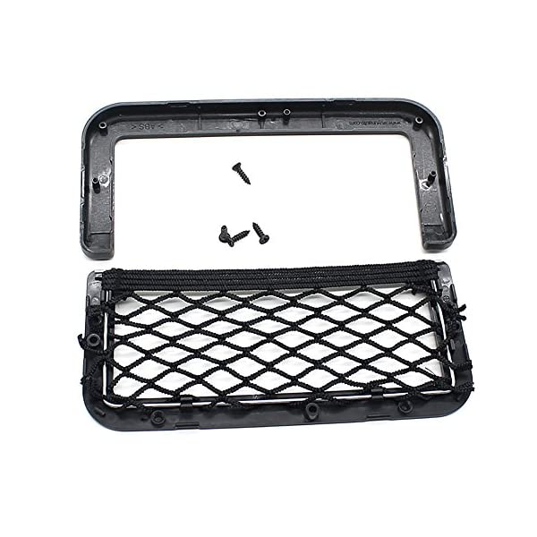 BRLIGE Car Seat Side Back Storage Net Bag Phone Holder Pocket Car Mesh Sundries Storage Box 7