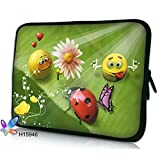 25.65 cm 26.67 cm 26.92 cm Zoll) Laptop Sleeve Schutzhülle Soft Case Cover Tasche für Samsung Galaxy Tab 3, Galaxy Tab 10/Note 10.1, Tab S, TabPRO 10.1/Microsoft Surface Pro 2/RT/Archos 101 Cobalt Transformer Book T100/Asus MeMO Pad TF701 T100TA 10, 10,1 Zoll) Lenovo Yoga, Idea Tab S6000, 10-70 HP Omni 10, Pavilion TouchSmart 10/Sony Xperia Z2