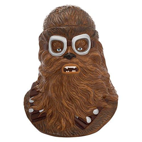 Vandor 56012 Solo: a Star Wars Story Chewbacca Keksdose, Keramik, 28 x 23 x 24 cm, Braun