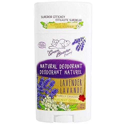 Déodorant naturel, Lavande, 1,76 oz (50 g) - Green Beaver