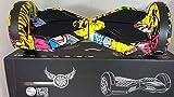 United Trade Hoverboard Elettrico Monopattino Elettrico Autobilanciato Overboard, Balance Scooter Skateboard con Luci LED & Bluetooth, 8 Pollici Jocker 6-14 Certificazione UL 2272, Confezione Regalo