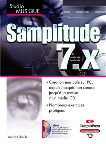 Samplitude 7.X (1 CD-Rom inclus)