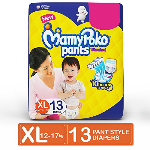 MamyPoko Pant Style Extra Large Size Diapers (13 Count)