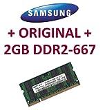 Mihatsch & Diewald / Samsung - Memory - 2GB - SO-DIMM 200-PIN - DDR2 - 667 MHz passend für LENOVO® R60 + R60e + R61 + R61i + SL300 + SL400 + SL500 + T60 + T60p + T61 + X300 + X60 + X60S + X61 + X61s + X61M + X61p