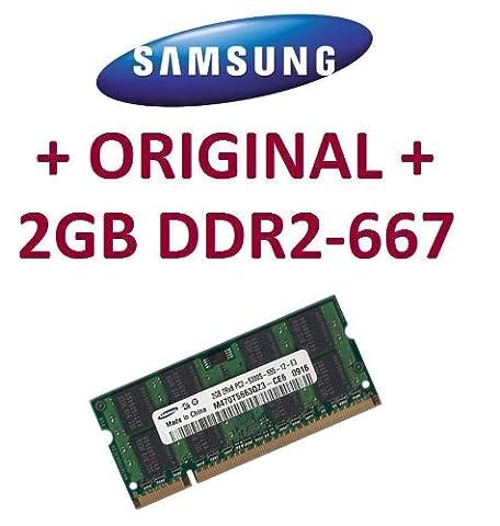 Mihatsch & Diewald / Samsung - Memory - 2GB - SO-DIMM 200-PIN - DDR2 - 667 MHz passend für LENOVO® R60 + R60e + R61 + R61i + SL300 + SL400 + SL500 + T60 + T60p + T61 + X300 + X60 + X60S + X61 + X61s + X61M +