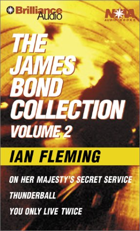 Thunderball/On Her Majesty's Secret Service/You Only Live Twice: 2 (James Bond Collection)