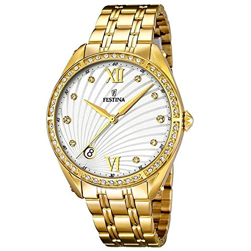Festina Women's Watch Mademoiselle Analogue Quartz Stainless Steel F16895/1
