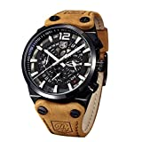63312e7ee0c3 Benyar - Reloj de Pulsera para Hombre