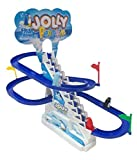 #9: Generic Funny Frisk Jolly Penguin Race Toy, Multi Color for Kids