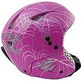 HMR H1 Ski Helmet Spider Purple Design