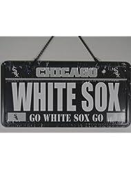 Chicago White Sox MLB License Plate Sign