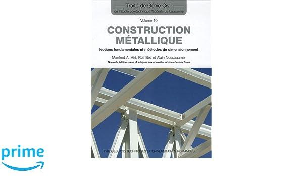 construction m tallique notions fondamentales et m thodes de dimensionnement