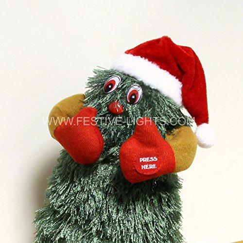 Christmas decorations xmastree danza a batteria per albero di natale, 30cm
